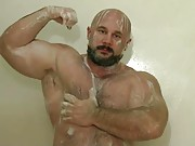 Hairy muscle hunks with big cocks